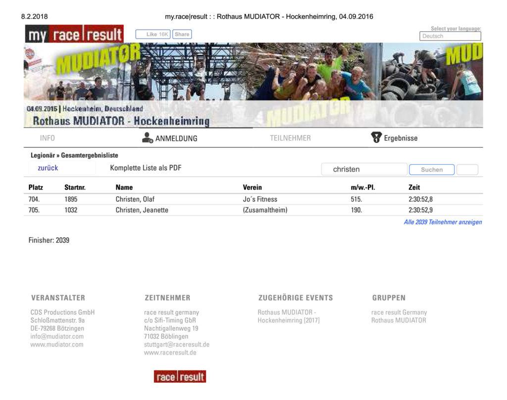 Rothaus Mudiator Hockenheimring 2016